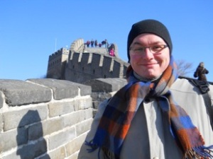 Image of Daniel Nehring on the Great Wall of China, 2011