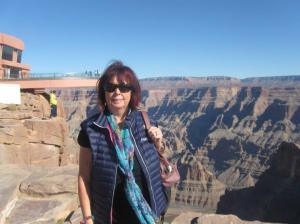 Gill Leighton, BA, PhD 1979-1988 (at the Grand Canyon)