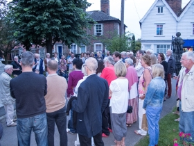Imaginations is launched in Wivenhoe - September 2014